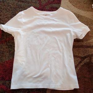 White short sleeve tee, size medium 8/10